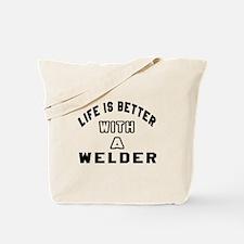 Welder Designs Tote Bag