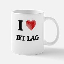I Love Jet Lag Mugs