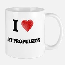 I Love Jet Propulsion Mugs