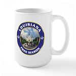 Louisiana Freemason Large Mug