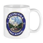Louisiana Freemason Mug