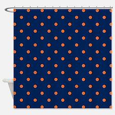 Orange Shower Curtains | Orange Fabric Shower Curtain Liner
