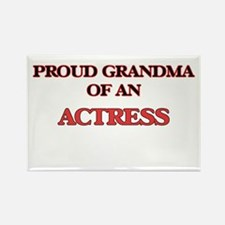 Proud Grandma of a Actress Magnets