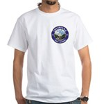 Louisiana Free Mason White T-Shirt