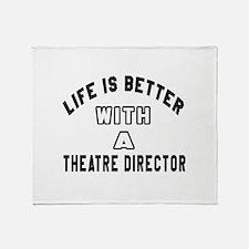 Theatre director Designs Throw Blanket