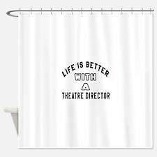Theatre director Designs Shower Curtain