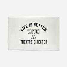 Theatre director Designs Rectangle Magnet