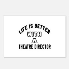 Theatre director Designs Postcards (Package of 8)