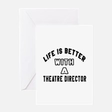 Theatre director Designs Greeting Card