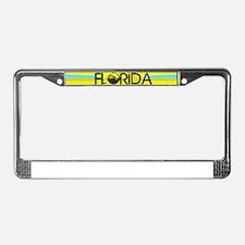 FLORIDA EMERALD GREEN SURF License Plate Frame