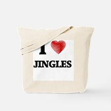 I Love Jingles Tote Bag