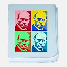 Vladimir Putin baby blanket