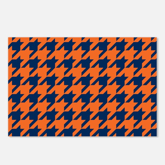 Houndstooth Checkered: Or Postcards (Package of 8)