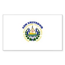 San Salvador, El Salvador Rectangle Decal