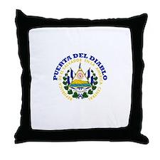 Puerta del Diablo, El Salvado Throw Pillow