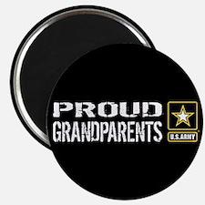 "U.S. Army: Proud Grandparen 2.25"" Magnet (10 pack)"