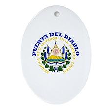 Puerta del Diablo, El Salvado Oval Ornament