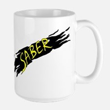 Saber Black Mugs