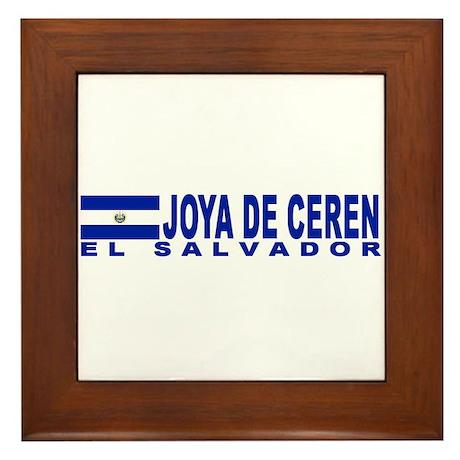 Joya de Ceren, El Salvador Framed Tile