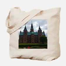 Girl of the Castle Meadow Tote Bag