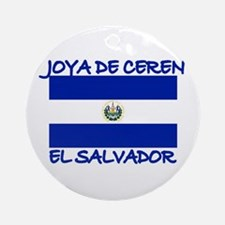 Joya de Ceren, Elsalvador Ornament (Round)