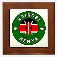 Unique Kenya Framed Tile