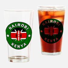 Unique Kenya Drinking Glass