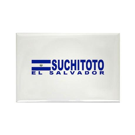 Suchitoto, El Salvador Rectangle Magnet