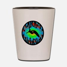 Unique Folly beach Shot Glass