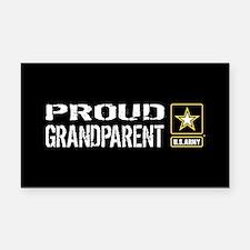 U.S. Army: Proud Grandparent Rectangle Car Magnet