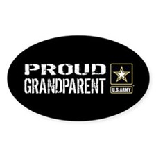 U.S. Army: Proud Grandparent (Black Decal
