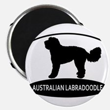 labradoodle2 Magnets