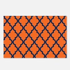 Moroccan Pattern: Navy Bl Postcards (Package of 8)