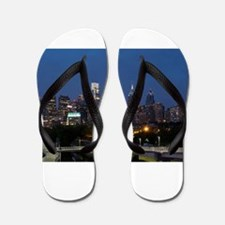 Philly skyline from Schuylkill Banks bo Flip Flops
