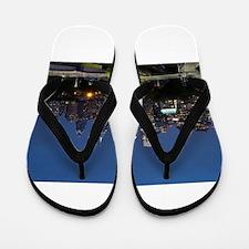 Philly skyline from Schuylkill Banks bo Flip Flops