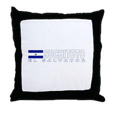Suchitoto, El Salvador Throw Pillow