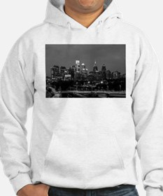 Philly skyline from Schuylkill B Hoodie