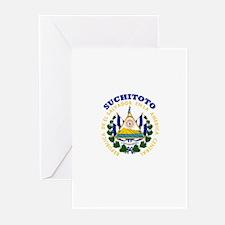Suchitoto, El Salvador Greeting Cards (Pk of 10)