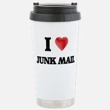 I Love Junk Mail Travel Mug