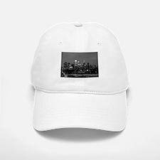 Philly skyline from Schuylkill Banks boardwalk Baseball Baseball Cap