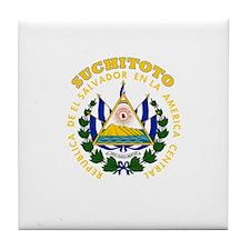 Suchitoto, El Salvador Tile Coaster