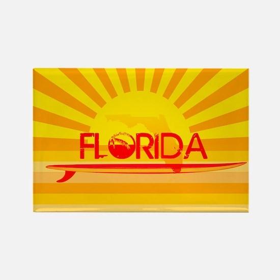 Florida Orange Sunset Magnets