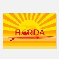 Florida Orange Sunset Postcards (Package of 8)