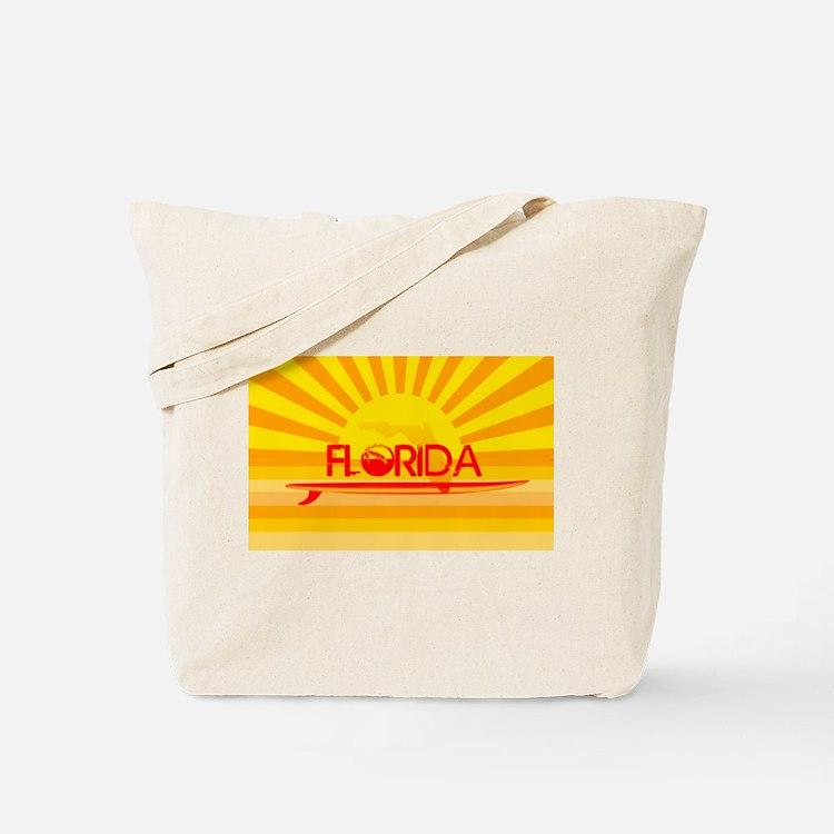 Florida Orange Sunset Tote Bag