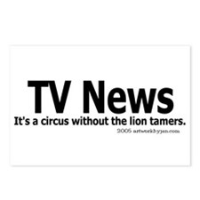 Circus w/o lion tamers Postcards (Package of 8)