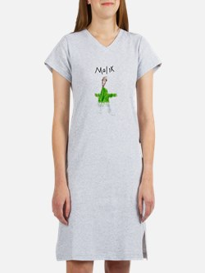 Cute Malik Women's Nightshirt