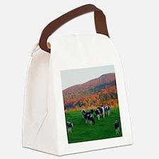 Cute Cow Canvas Lunch Bag