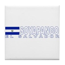 Soyapango, El Salvador Tile Coaster