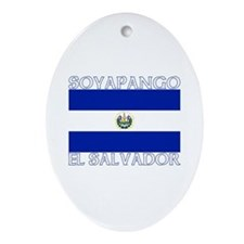 Soyapango, El Salvador Oval Ornament