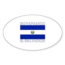 Soyapango, El Salvador Oval Decal